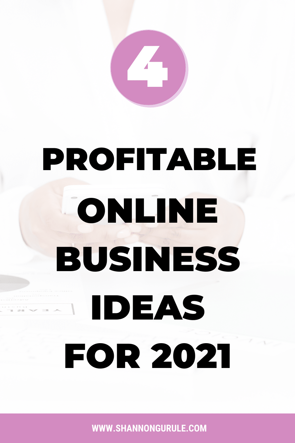 4 Profitable Online Business Ideas For 2021