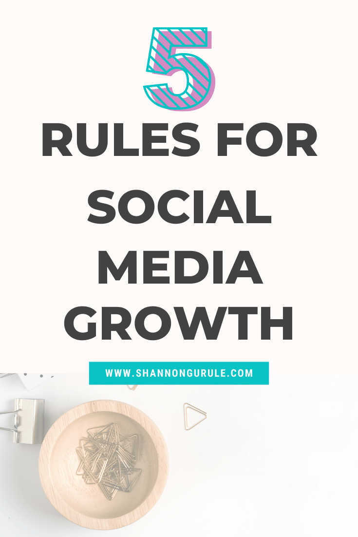 5 Tips For Social Media Growth